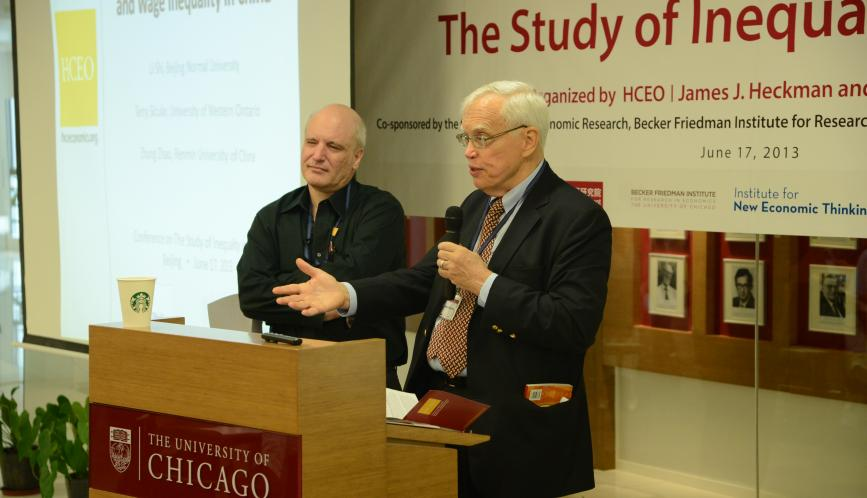 Steven Durlauf and James Heckman