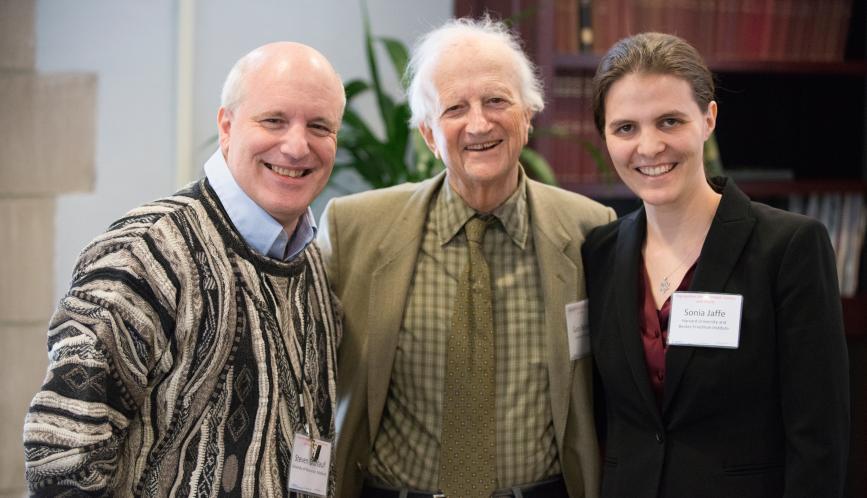 Steven Durlauf, Gary Becker, and Sonia Jaffe