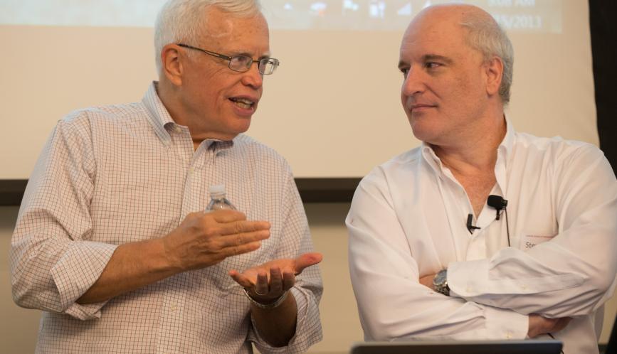 James Heckman and Steven Durlauf in conversation.