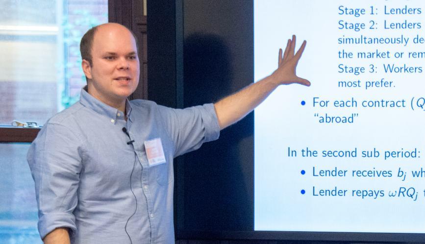 Economist Andy Glover