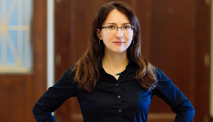 Economist Oksana Leukhina