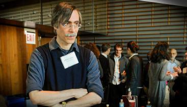 Professor Arthur Lewbel at a conference.